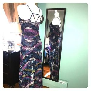 Maxi multi-colored dress